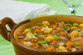 Minestrone soup 2 — Stock Photo