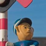 Traffic police gesture (2) — Stock Photo #3154282