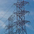 Electrical tower (1) — Stock Photo