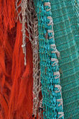 Colorful fishing nets (1) — Stock Photo