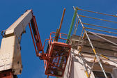 Platform lift for restoration (3) — Stockfoto