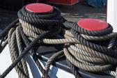 Seile, Boot (1 binden) — Stockfoto