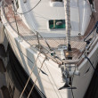 Detail of yacht boat (2) — Stock Photo