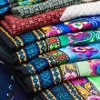 Handmade bai minority textiles — Stock Photo