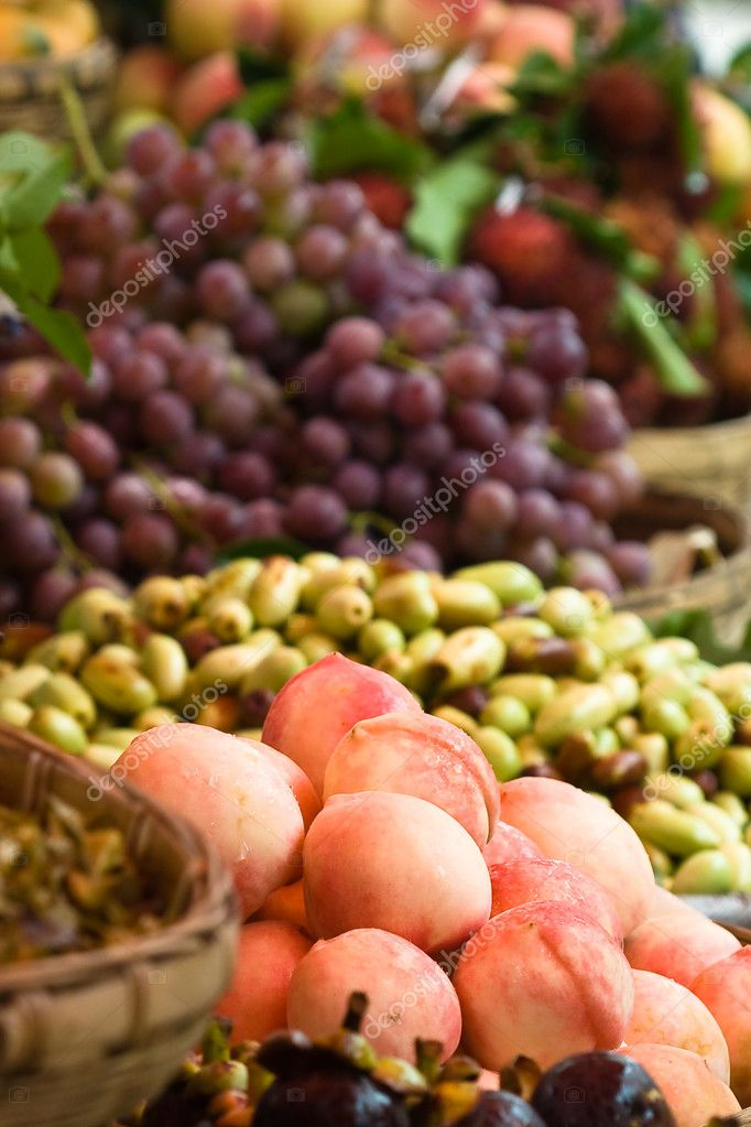 Assortment of exotic fruits (2)  Stock Photo #3179752