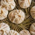 Dumplings on bamboo steamer (2) — Stock Photo #3183858