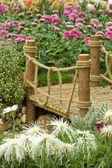 Chinese garden (portrait) — Stock Photo