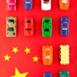 Chinese car industry (2) - Foto de Stock