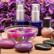 Spa beauty products - Stock Photo