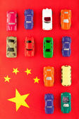 Chinese car industry (2) — Stock Photo