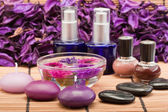 Spa beauty products — Stock Photo