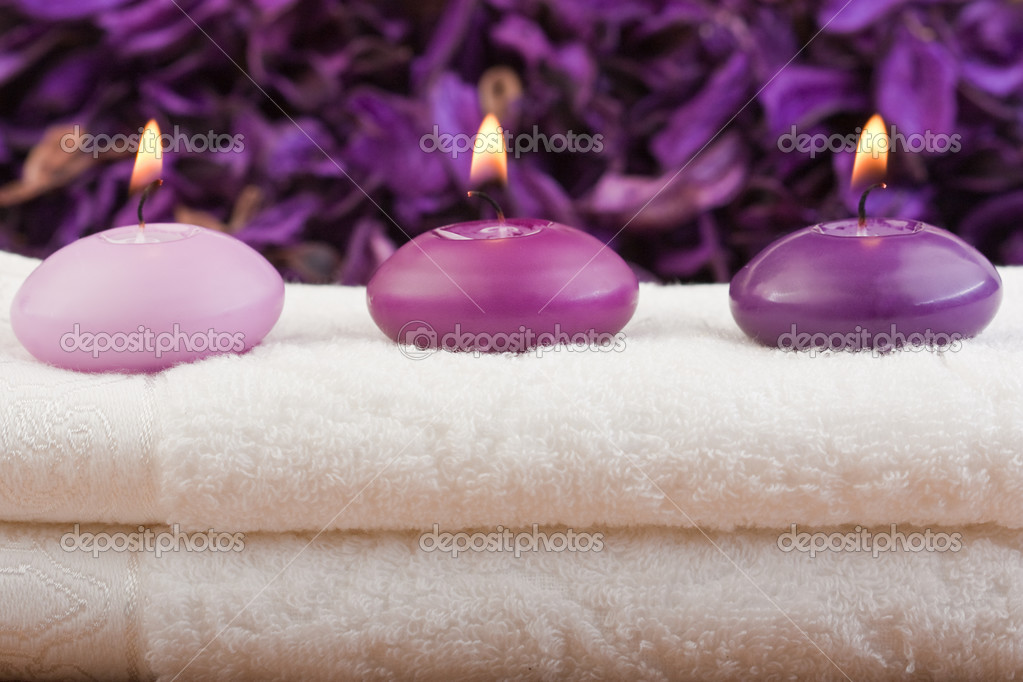 purple massage