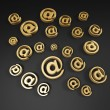 Stock Photo: Email symbols