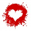 Stock Photo: Blood heart