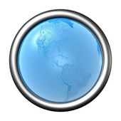 Blue earth — Foto de Stock