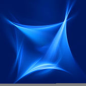 Blue square rays — Stock Photo