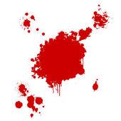 Krvavý profil — Stock fotografie
