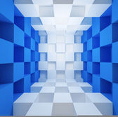 Cubic space — Stock Photo