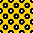 Black dots pattern - Stock Photo
