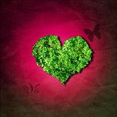 Leaf hjärta — Stockfoto