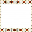 Tile Frame — Stock Photo