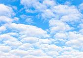 Bright Blue Sunny Sky — Stock Photo