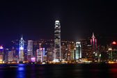 Night scene in Hong Kong — Stock Photo