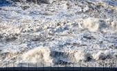 Rough water — Stock Photo