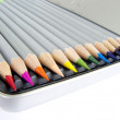 Royalty-Free Stock Photo: 12 Color pencils