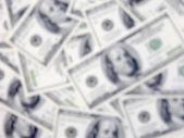 Desenfoque de dinero — Foto de Stock