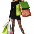 Shopping mania — Stock Photo