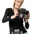 Royalty-Free Stock Photo: Vintage Cameras