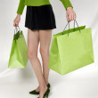 Shopping mania — Stockfoto
