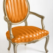 Orange Armchair — Stock Photo
