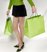 购物狂热 — 图库照片