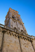 The bell tower of the cathedral city of Trogir, Croatia — Stock Photo