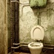 Dirty Toilet — Stockfoto