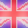 Dotted UK Flag - Photo