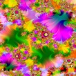 Very psychedelic - Foto Stock