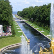 Stock Photo: Peterhof Palace view