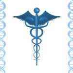 ADN y salud — Foto de Stock