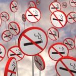 No smoking signs — Stock Photo