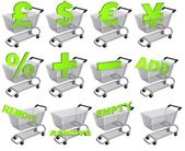 Carts — Stock Photo