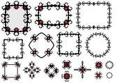 Componentes e frames goth — Fotografia Stock