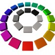 Color wheel - Photo