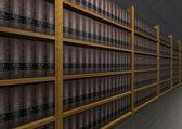 Książek prawa — Zdjęcie stockowe