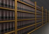 Libri di diritto — Foto Stock
