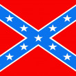 Stock Photo: Confederate Flag