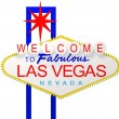 Las Vegas Sign - Foto Stock