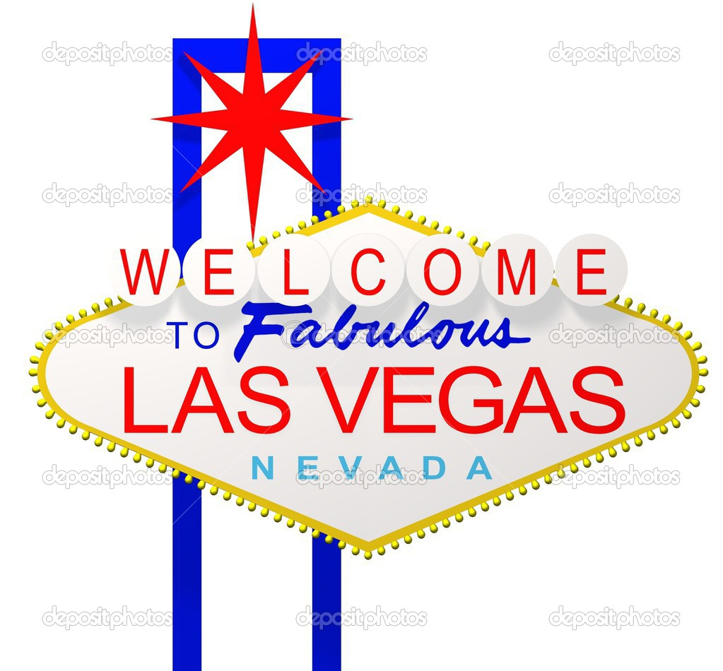 Rendered Las Vegas Nevada sign  — Stock Photo #3499931